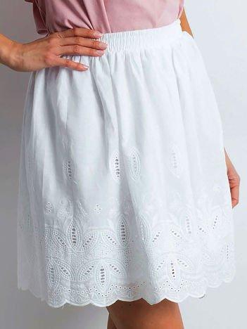 Biała spódnica Exception