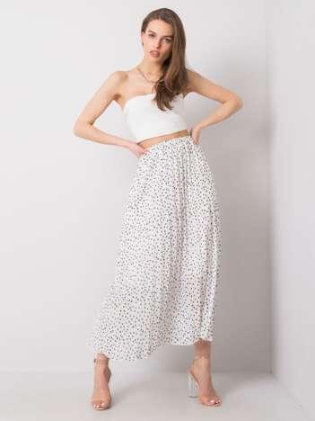 Biała spódnica plisowana Beatriz SUBLEVEL