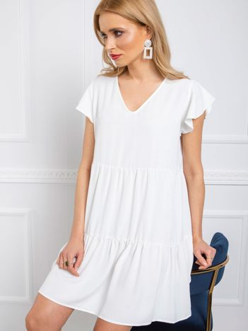 Biała sukienka Angel RUE PARIS
