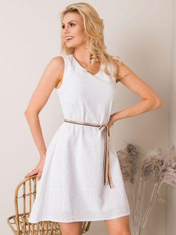Biała sukienka Demmie