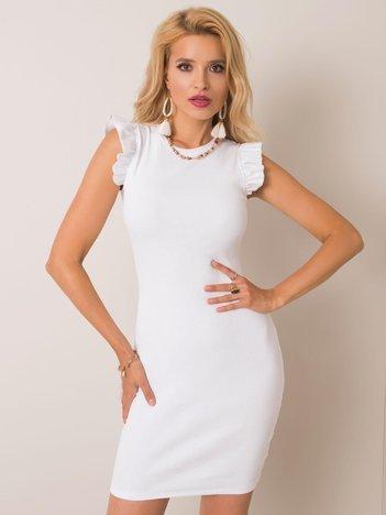 Biała sukienka Khloe RUE PARIS