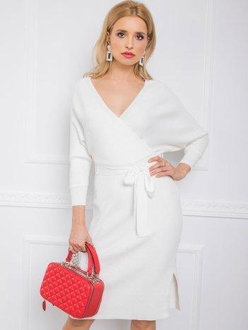 Biała sukienka Lorna