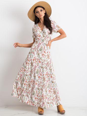 Biała sukienka Manufacturing