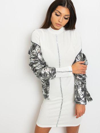 Biała sukienka Monique