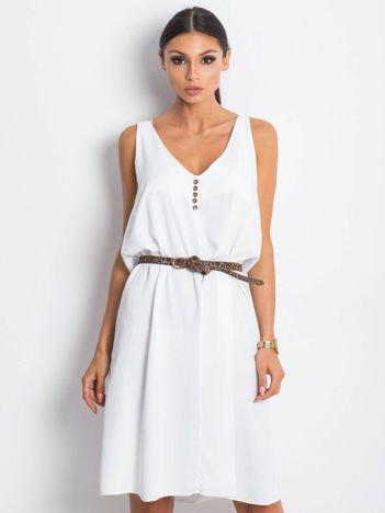 Biała sukienka Waterway