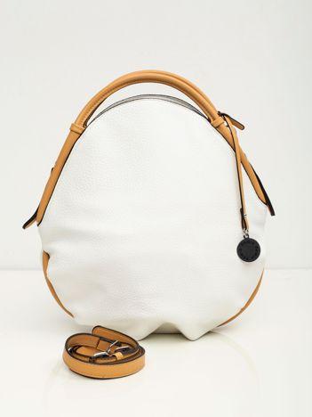 Biała torba z ekoskóry