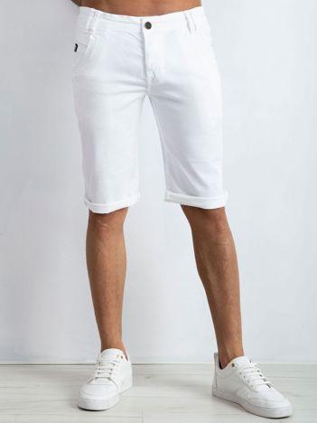 Białe spodenki męskie Seeing