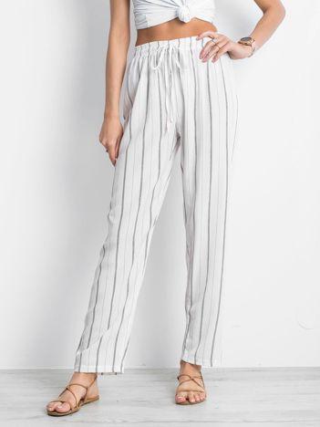 Białe spodnie Rediscover