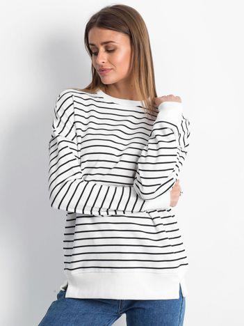Biało-czarna bluza Continuously
