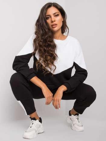 Biało-czarny komplet z bluzą i spodniami Abinelli RUE PARIS