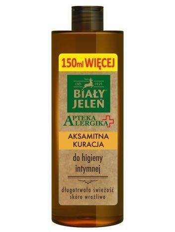Biały Jeleń Apteka Alergika Aksamitna kuracja do higieny intymnej  400 ml