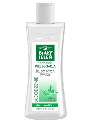 Biały Jeleń Codzienna Pielęgnacja Żel do mycia twarzy Łagodzenie  265 ml