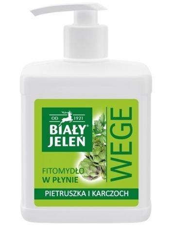 Biały Jeleń Wege Fitomydło w płynie Pietruszka i Karczoch  500 ml