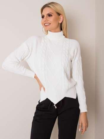 Biały sweter Losanna