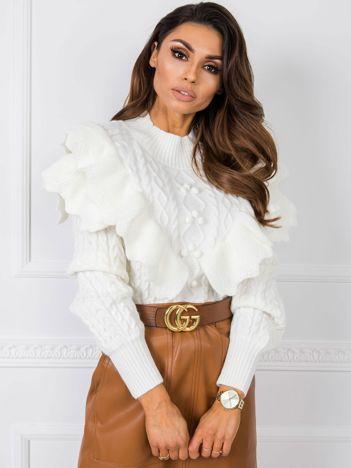 Biały sweter Sonya