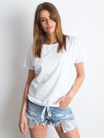Biały t-shirt Curiosity