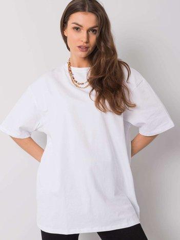 Biały t-shirt Juliet RUE PARIS