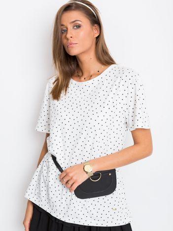 Biały t-shirt Simone