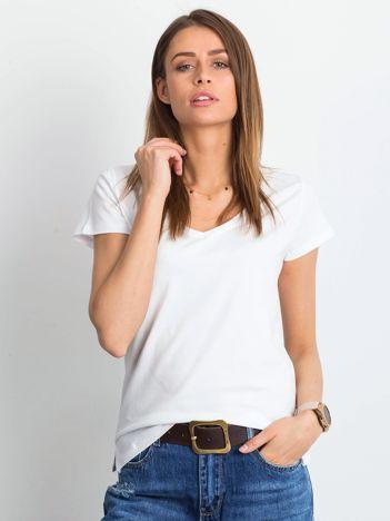 Biały t-shirt Square