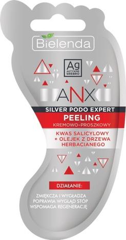 """Bielenda ANX Silver Podo Expert Kremowo - Proszkowy Peeling do stóp 10g"""""""