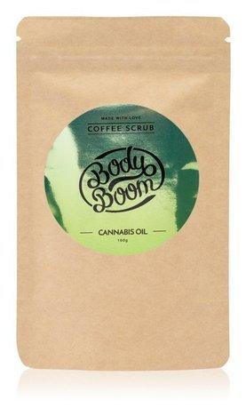 Bielenda Body Boom Peeling kawowy do ciała - Cannabis Oil 100 g