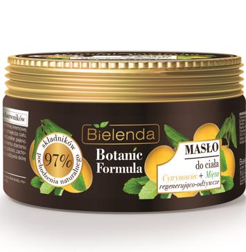 Bielenda Botanic Formula Cytrynowiec+Mięta Masło do ciała 250 ml