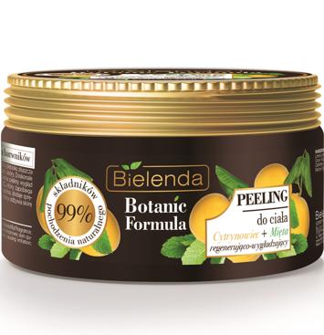 Bielenda Botanic Formula Cytrynowiec+Mięta Peeling do ciała 350 g