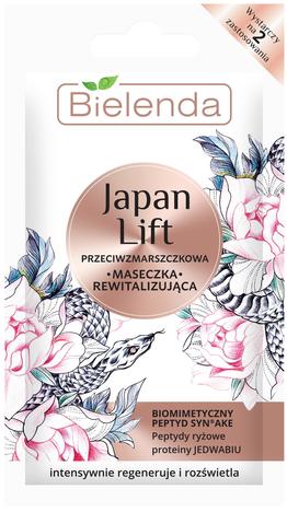 Bielenda Japan Lift Rewitalizująca Maseczka przeciwzmarszczkowa 8 g