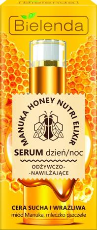 Bielenda Manuka Honey Nutri Elixir Serum odżywczo-nawilżające na dzień i noc 30g