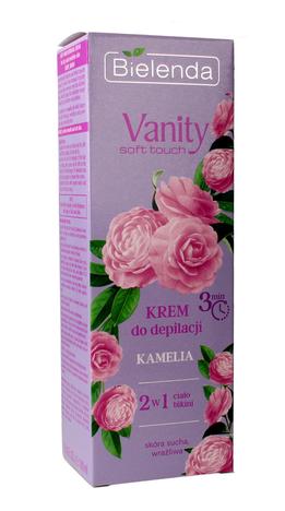 Bielenda Vanity Soft Touch Krem do depilacji 2w1 Kamelia 100 ml