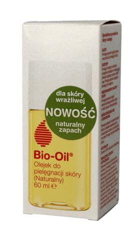 """Bio-Oil Naturalny Olejek do pielęgnacji skóry wrażliwej na blizny i rozstępy 60ml"""""""