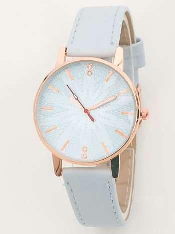 Błękitny zegarek damski