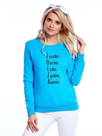 Bluza damska turkusowa ZOŁZA