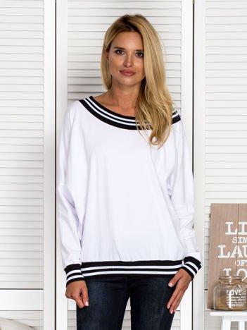 Bluza hiszpanka oversize biała
