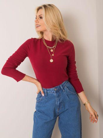 Bordowa bluzka Stephanie FRESH MADE