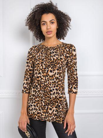 Brązowa bluzka Jaimie RUE PARIS