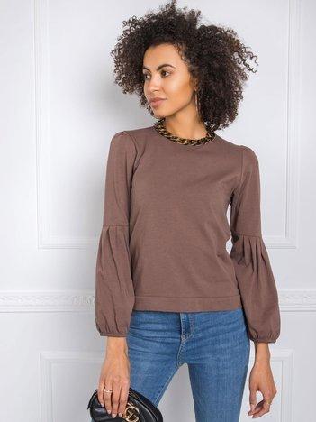 Brązowa bluzka Kellie