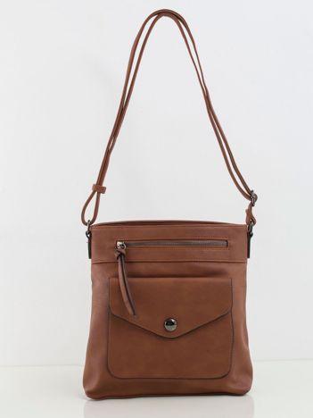 Brązowa mała torebka