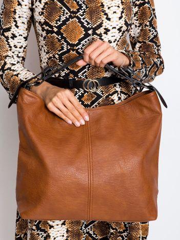 Brązowa torba damska