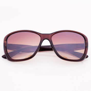 Brązowe Damskie Okulary Przeciwsłoneczne