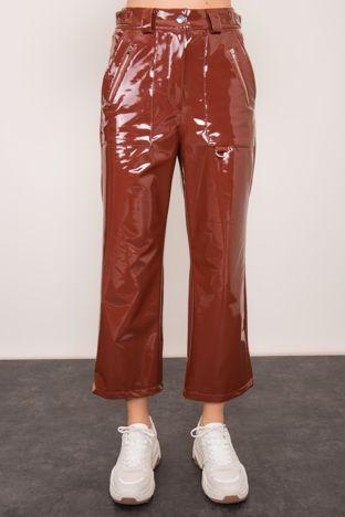 Brązowe spodnie BSL