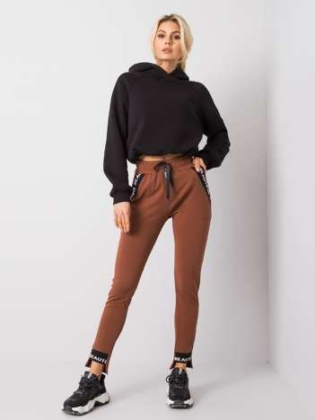 Brązowe spodnie Happy
