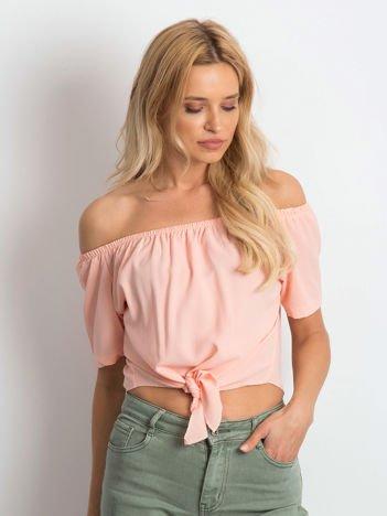 Brzoskwiniowa bluzka Harmony