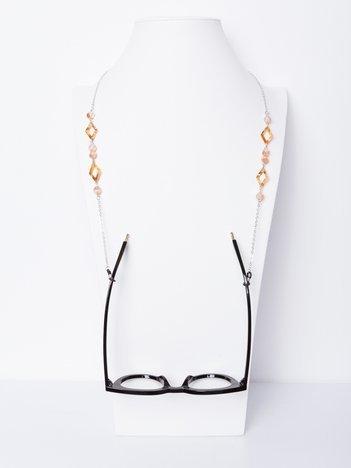 CHAIN SUNGLASSES Złoty łańcuszek do okularów z detalami