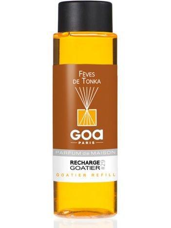 CLEM-GOA Zapas do dyfuzora zapachowego  250 ml - Bób tonka