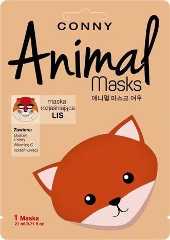CONNY Animal Mask LIS rozjaśniająca w płachcie