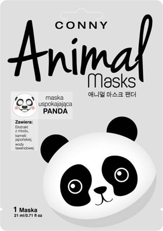 CONNY Maska animal panda uspokajająca 1 szt.