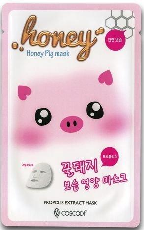 COSCODI Koreańska maseczka na tkaninie z ekstraktem z propolisu MIÓD