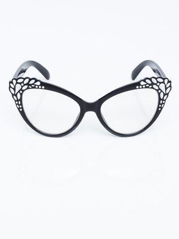 CRYSTAL Damskie okulary zerówki