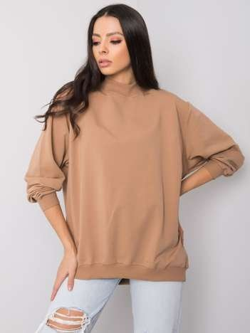Camelowa bluza Twist